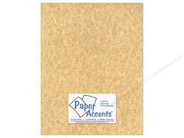 Cardstock 8 1/2 x 11 in. #210 Parchment Aged by Paper Accents (25 sheets)