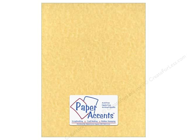 Cardstock 8 1/2 x 11 in. #211 Parchment Ancient Gold by Paper Accents (25 sheets)