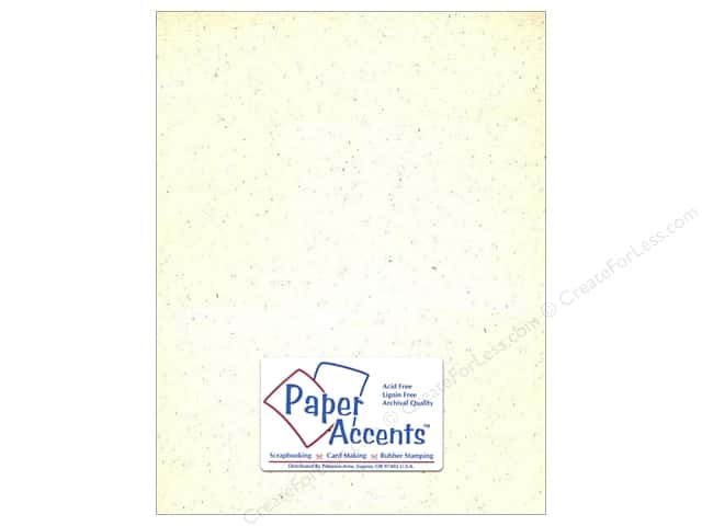 Cardstock 8 1/2 x 11 in. #302 Recycled Birch by Paper Accents (25 sheets)