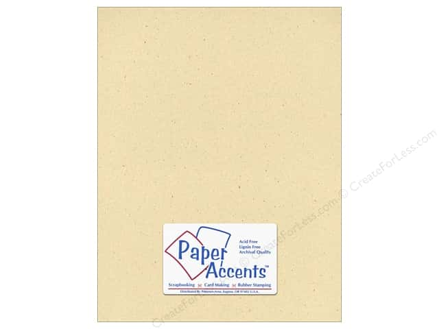 Cardstock 8 1/2 x 11 in. #305 Recycled Husk by Paper Accents (25 sheets)