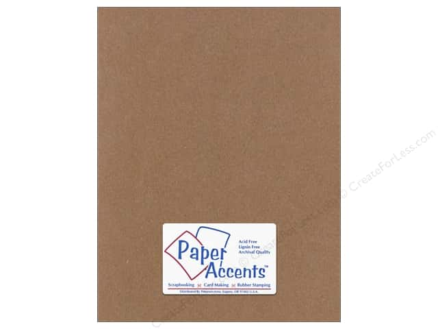 Cardstock 8 1/2 x 11 in. #709 Textured Clove by Paper Accents (25 sheets)