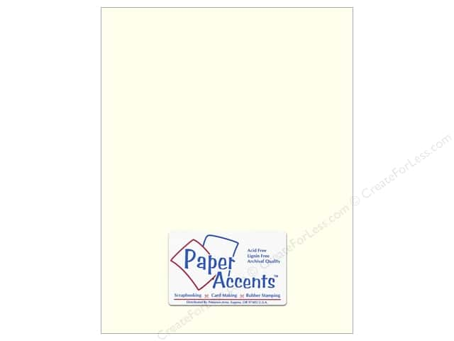 Paper Accents Pearlized Paper 8 1/2 x 11 in. #893 Pearl (25 sheets)