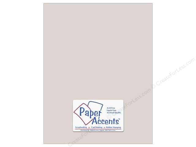 Paper Accents Pearlized Paper 8 1/2 x 11 in. #895 Silver (25 sheets)
