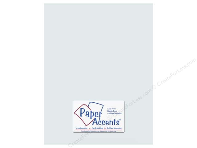 Paper Accents Pearlized Paper 8 1/2 x 11 in. #896 Nickel (25 sheets)