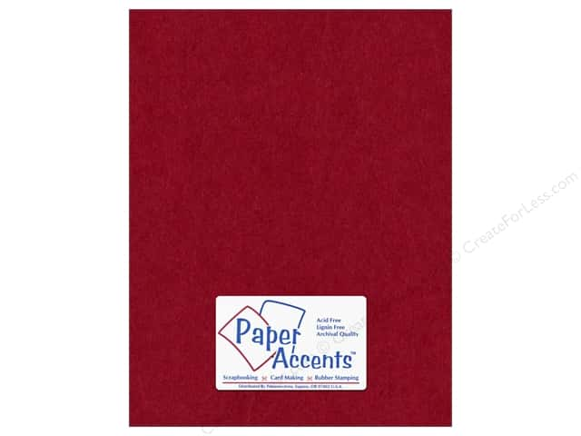 Paper Accents Cardstock 8 1/2 x 11 in. #163 Smooth Chili (25 sheets)