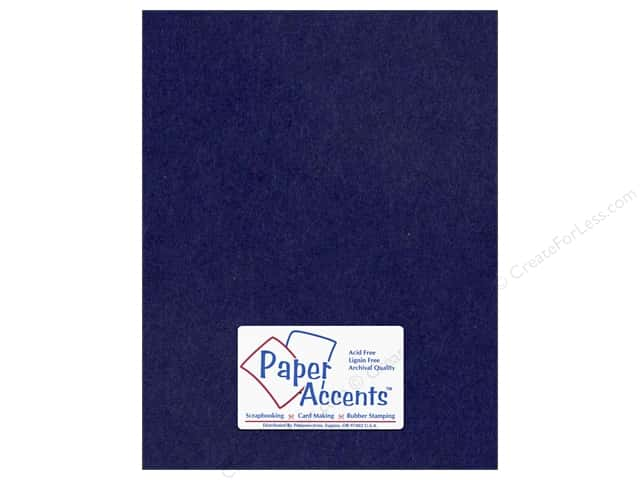 Cardstock 8 1/2 x 11 in. #164 Smooth Iris by Paper Accents (25 sheets)