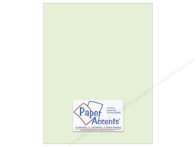 Paper Accents Vellum 8 1/2 x 11 in. #937 Light Green (25 sheets)