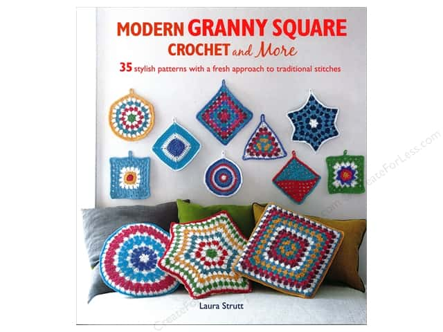 Cico Modern Granny Square Crochet And More Book