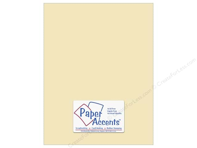 Vellum 8 1/2 x 11 in. #943 Ivory by Paper Accents (25 sheets)