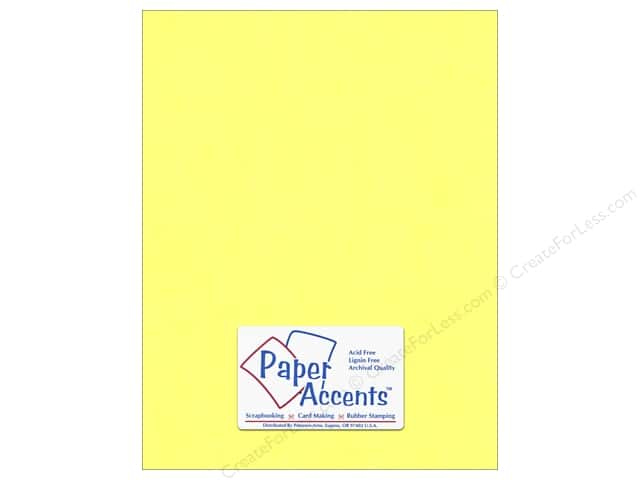 Vellum 8 1/2 x 11 in. #946 Daffodil by Paper Accents (25 sheets)
