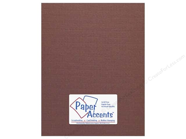 Cardstock 8 1/2 x 11 in. #725 Chex Espresso by Paper Accents (25 sheets)