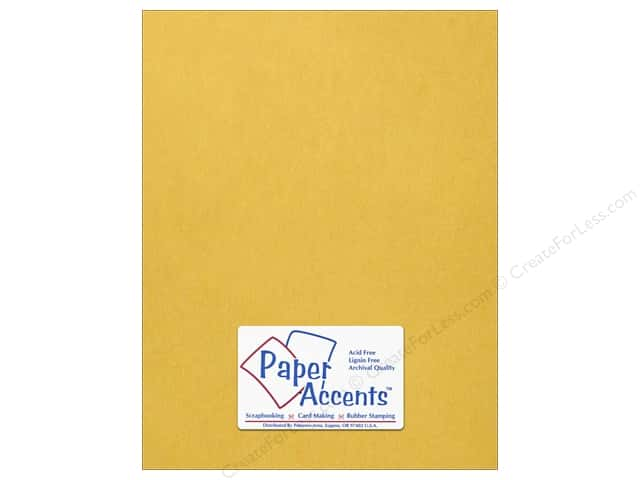 Onion Skin Paper 8 1/2 x 11 in. Gold by Paper Accents (25 sheets)