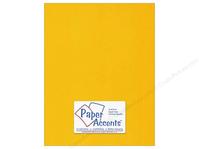 Paper Accents Vellum 8 1/2 x 11 in. #953 14 kt. Gold (25 sheets)