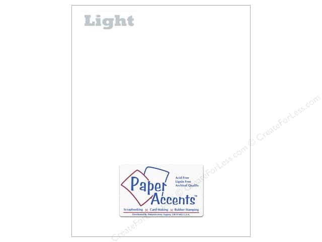 Paper Accents Vellum 8 1/2 x 11 in. #901 Light Weight White (250 sheets)