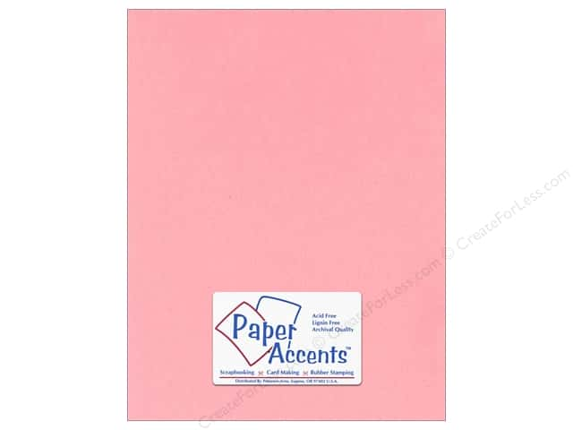 Paper Accents Stationery 8 1/2 x 11 in. Light Pink 25 pc.