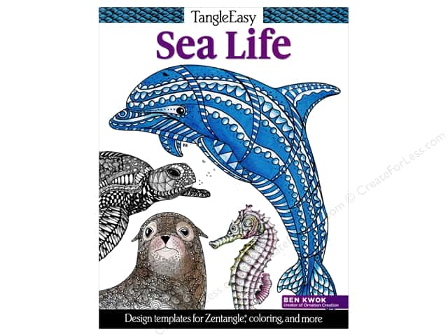 Design Originals TangleEasy Sea Life Book