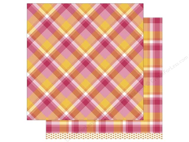 Lawn Fawn 12 x 12 in. Paper Perfectly Plaid Nicole 12 pc. (12 sheets)