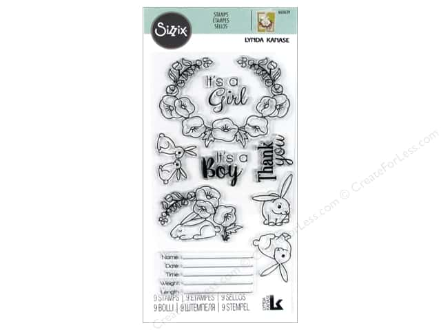 Sizzix Stamp Lynda Kanase Clear Sweet Baby