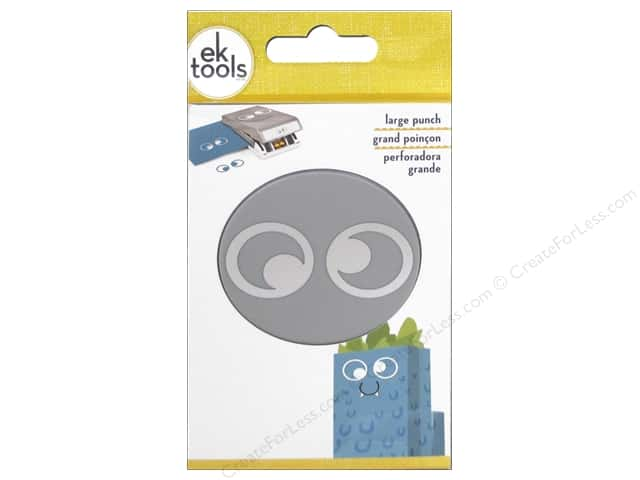 EK Success Large Punch Double Googly Eyes 1 in.