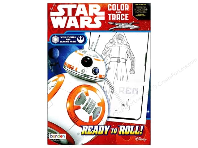 Bendon Color & Trace Book Star Wars