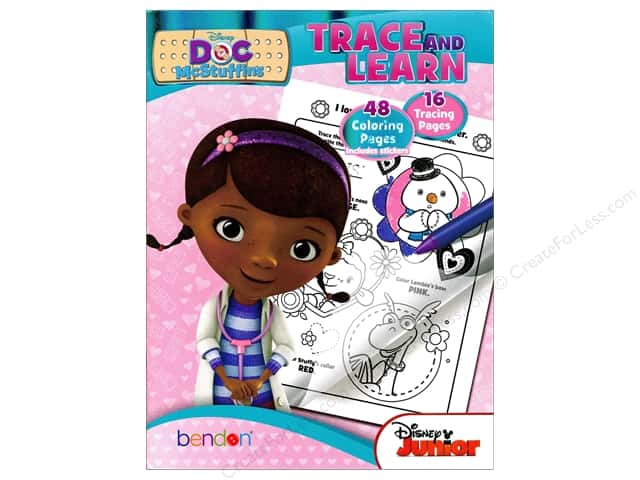 Bendon Trace & Learn Book Disney Doc McStuffins