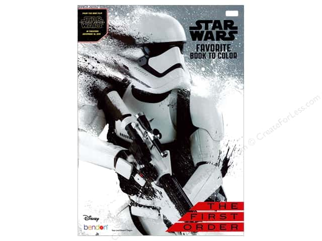 Bendon Favorite Book to Color Star Wars The First Order