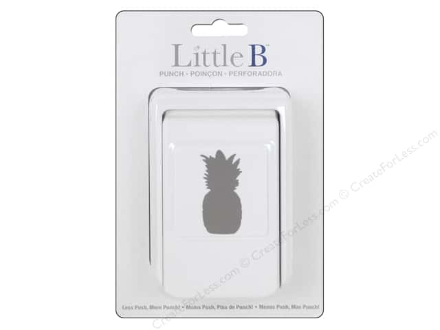 Little B Paper Punch Pineapple