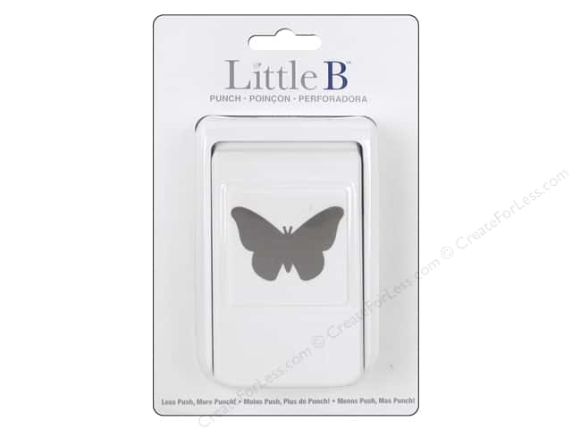 Little B Paper Punch Butterfly