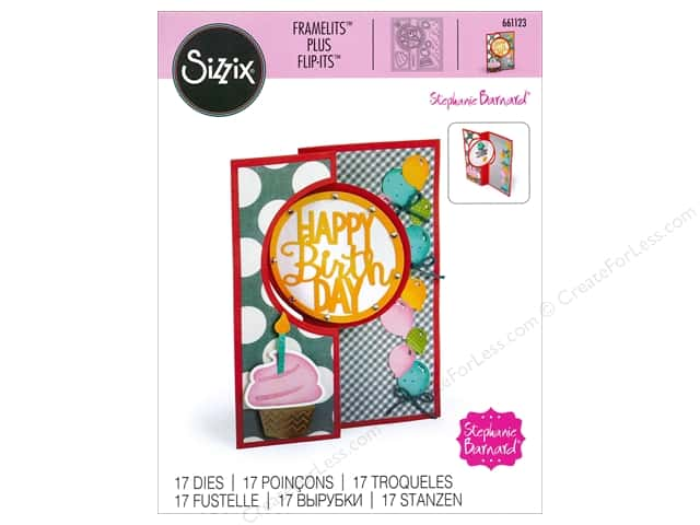 Sizzix Framelits Die Set 11 pc. Circle Flip-its Card