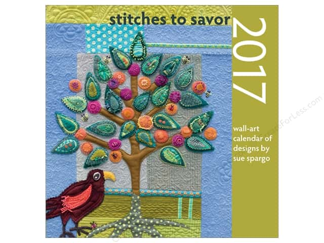 That Patchwork Place Stitches to Savor Calendar 2017