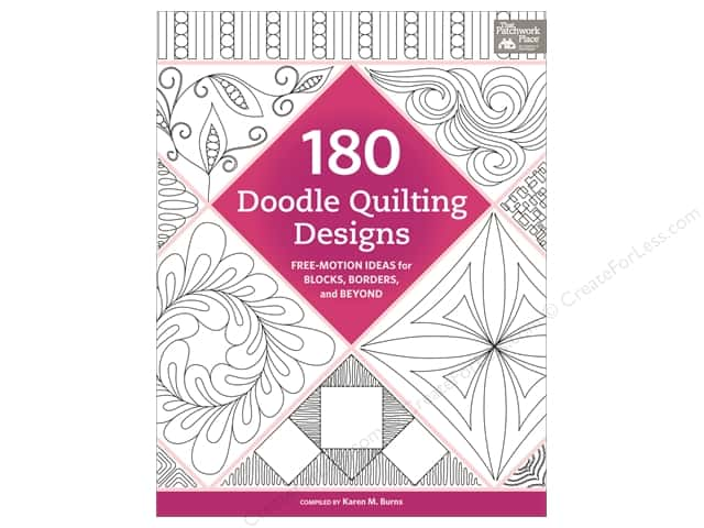 That Patchwork Place 180 Doodle Quilting Designs Book