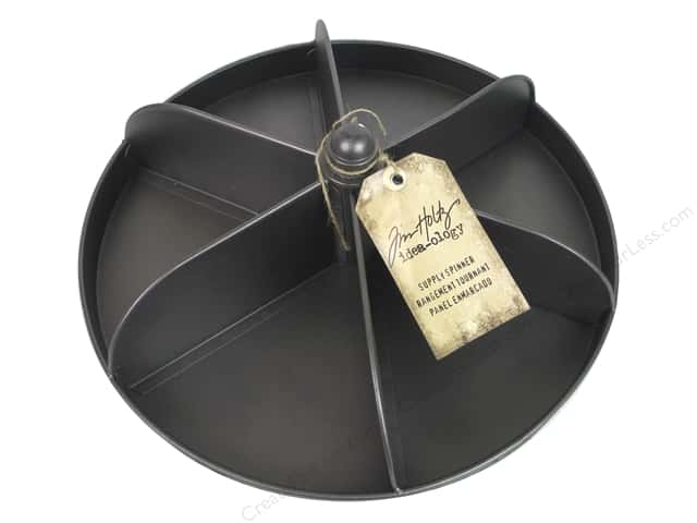 Tim Holtz Idea-ology Supply Spinner Black