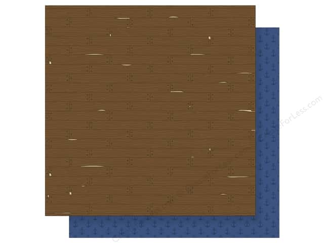 Imaginisce 12 x 12 in. Paper Party Me Hearty Walk The Plank (25 sheets)
