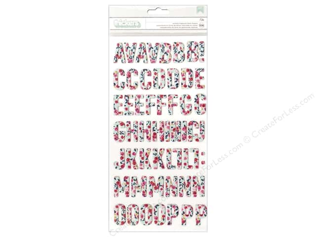 Pebbles Collection Jen Hadfield Everyday Thickers Sticker Chip Ella Floral