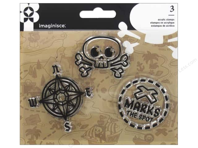 Imaginisce Party Me Hearty Stamp Pirate