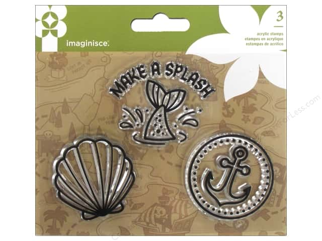 Imaginisce Party Me Hearty Stamp Mermaid