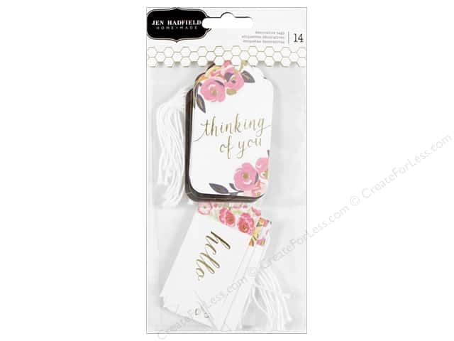 Pebbles Collection Jen Hadfield Everyday Decorative Tags Gold Foil