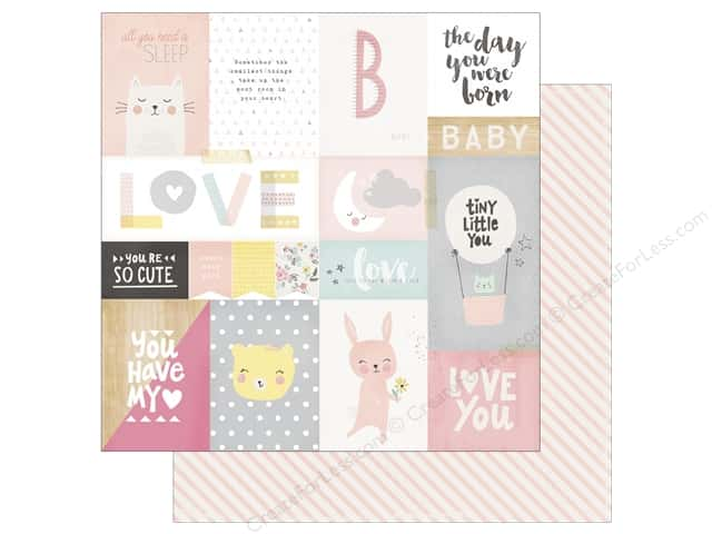 Crate Paper 12 x 12 in. Paper Little You My Sunshine (25 sheets)