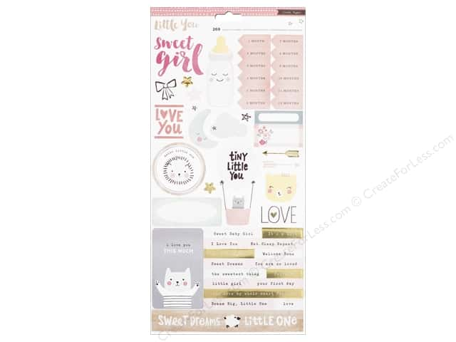 Crate Paper Collection Little You Sticker Girl 2