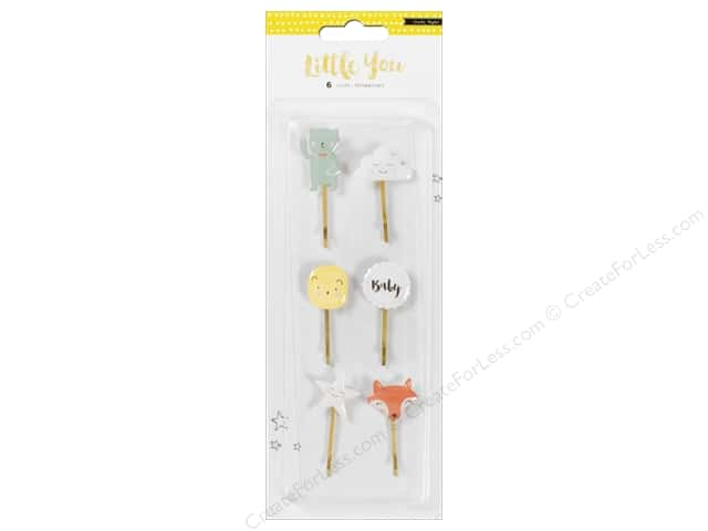 Crate Paper Collection Little You Decorative Clip