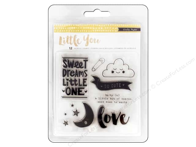 Crate Paper Clear Stamps Little You