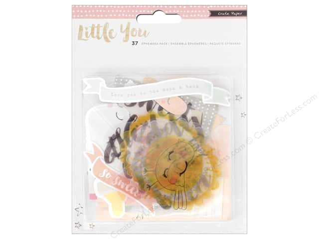 Crate Paper Ephemera Little You Girl