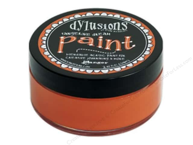 Ranger Dylusions Paint 2 oz. Tangerine Dream