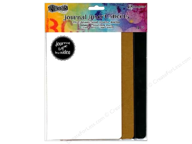 Ranger Dylusions Accessories Journal Insert Assorted Small