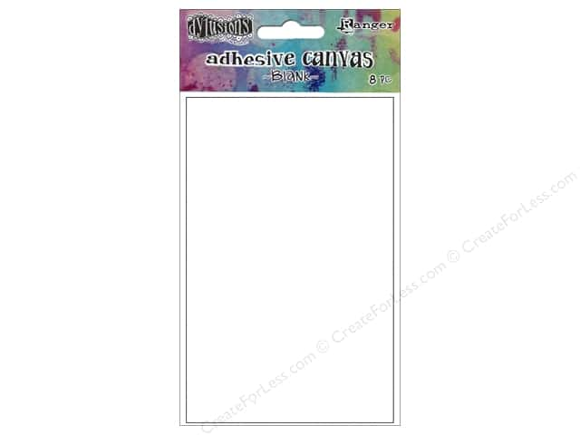 Ranger Dylusions Accessories Adhesive Canvas Blank