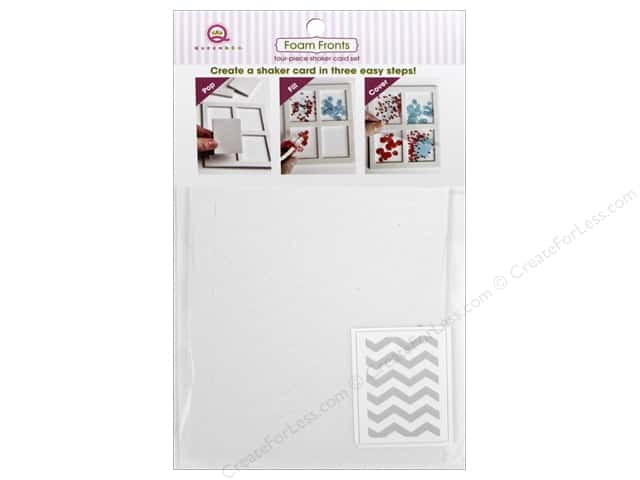 Queen&Co Collection Toppings Foam Fronts Chevron