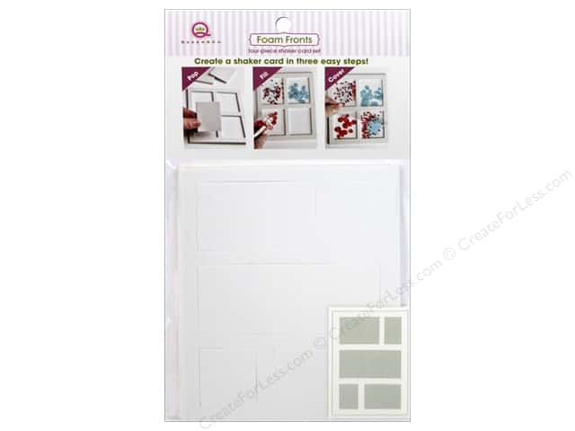 Queen&Co Collection Toppings Foam Fronts Squares