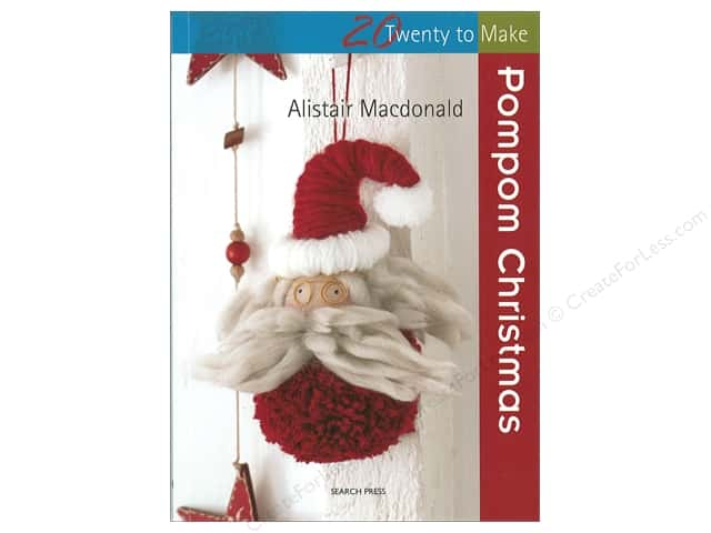 Search Press Twenty To Make Pompom Christmas Book