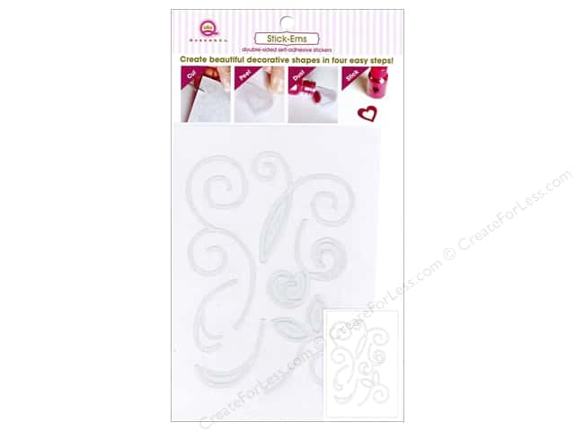 Queen&Co Collection Toppings Stick'ems Scrolls 4