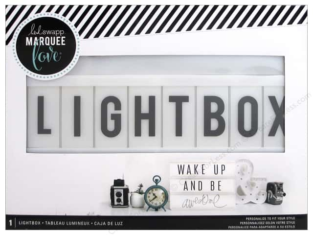 Heidi Swapp Battery Operated Lightbox White